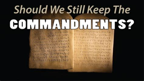 should we still keep the commandments shane idleman westside christian fellowship