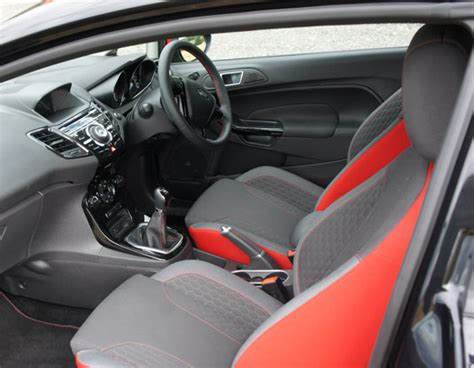 a spin of roulette in the sporty ford fiesta black the