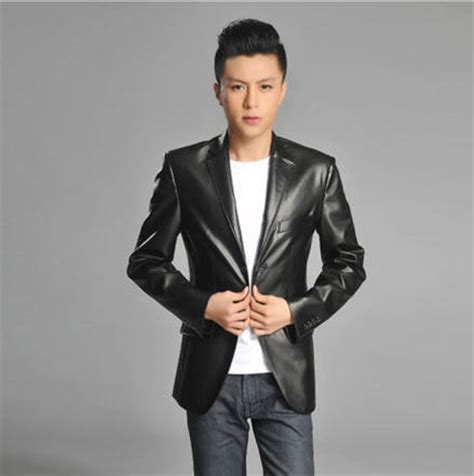 Time Skmei Casual Slim Classic Brown Leather black brown leather coat korean slim fit s suit business casual pu leather jacket autumn