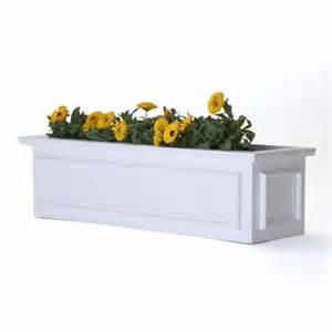 pvc window boxes pvc planters flower boxes window