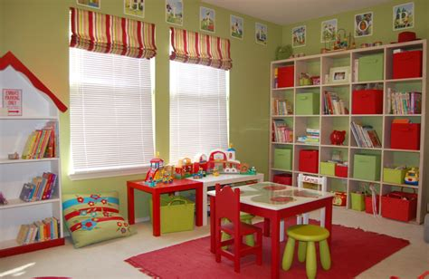 colorful playroom flooring ideas furnished by the appliances