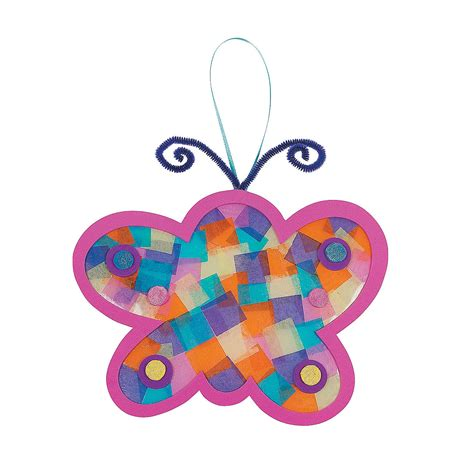 Craft Paper Butterflies - tissue paper butterfly craft kit trading
