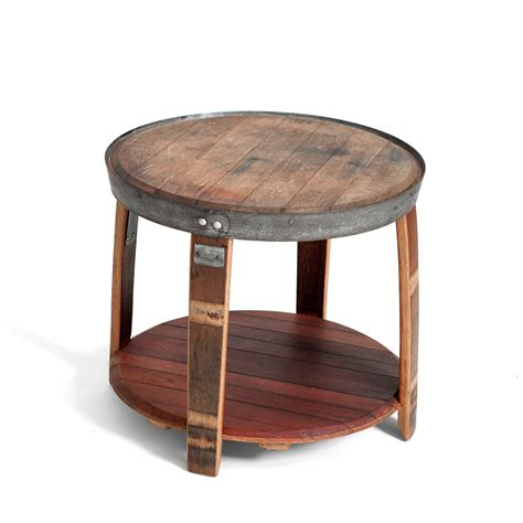 wine barrel table wine barrel side table wine barrels respond 233 touch