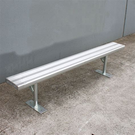 aluminium bench seating aluminium bench seat draffin
