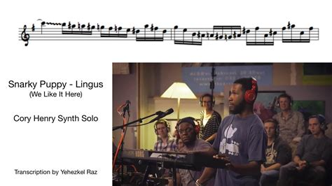 snarky puppy lingus snarky puppy lingus henry transcription by yehezkel raz