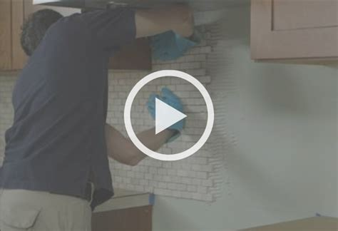 how to lay tile backsplash how to install a kitchen backsplash at the home depot