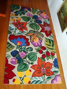 Diy Kitchen Rug Diy Painted Foam Mat Makeover 187 Curbly Diy Design Community