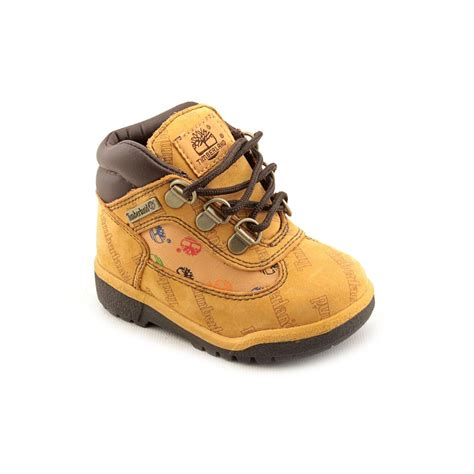 size 6 boots for timberland petits toddler boys size 6 brown leather hiking