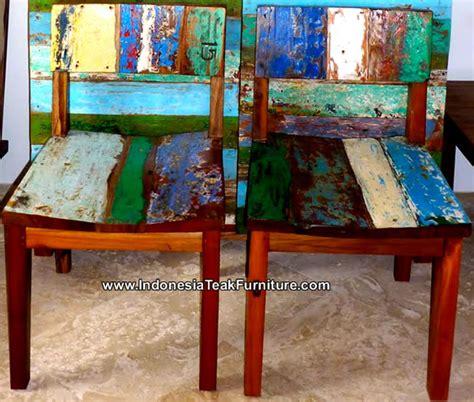 boat salvage furniture bc1 1 reclaimed boat wood furniture bali