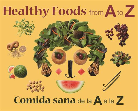 healthy food healthy books book review healthy foods from a to z growing up bilingual