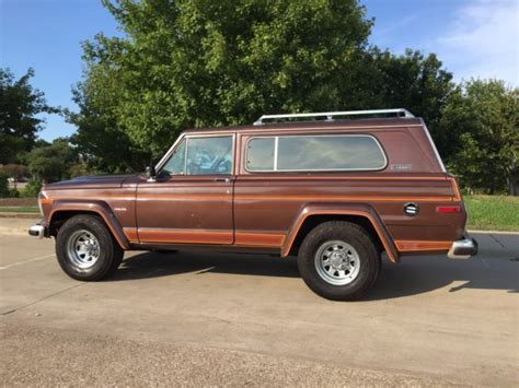 wide jeep wide tack laredo wagoneer sj size jeep for sale