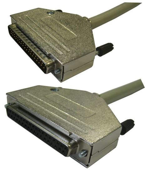 Kabel D Sub 37 Pin Assembly 25 Meter ccv sub d serielles kabel 37 pol buchse gt buchse 10m rmc g 252 nstig kaufen