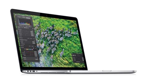 Macbook Pro Retina macbook pro retina 15 pouces en avance sur temps