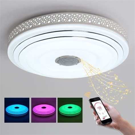 Ceiling Lights Led Bulbs by 2017 New Rgb Dimmable 36w Led Ceiling Light With Bluetooth