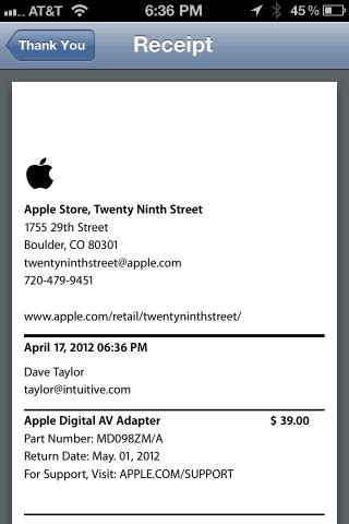 What Can I Buy With An Apple Store Gift Card - can i buy stuff at an apple store with just my iphone ask dave taylor