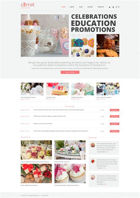 Event Planner WordPress Theme #48341