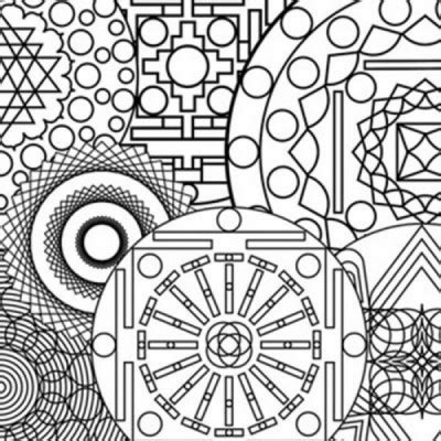 abstract patterns coloring pages pdf mandala coloring book