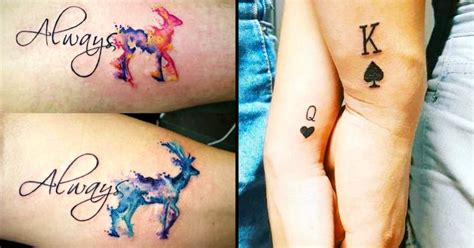 romantic couples tattoos best 25 couples tattoos ideas on