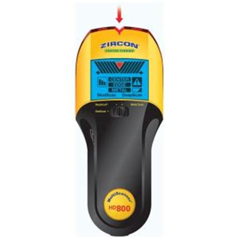 zircon corporation studsensor hd800 stud finder 66230 at