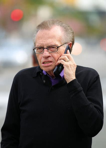 To Be Interviewed By Larry King by Larry King Photos Photos Larry King Takes A Mid