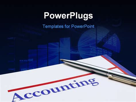 ppt templates for accounting accounting illustration of spreadsheet and business
