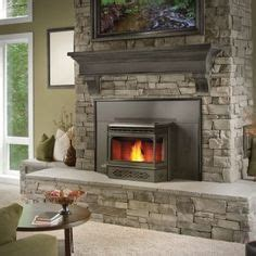 Can I Put A Wood Stove In Fireplace by Wood Stove Surround On Fireplaces