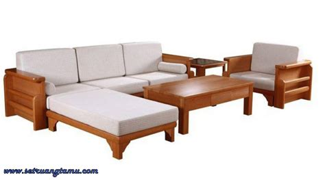 Sofa L Sudut model kursi sofa kayu fatare wallpaper