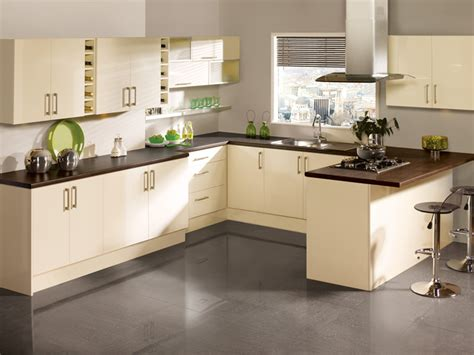 Cream Kitchen Designs | modern cream kitchen designs kitchenidease com