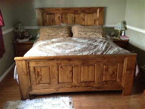 King size wood bed frame plans dqxhuh bed and bath