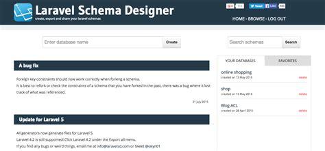 membuat website menggunakan laravel belajar laravel shema designer untuk membuat migration