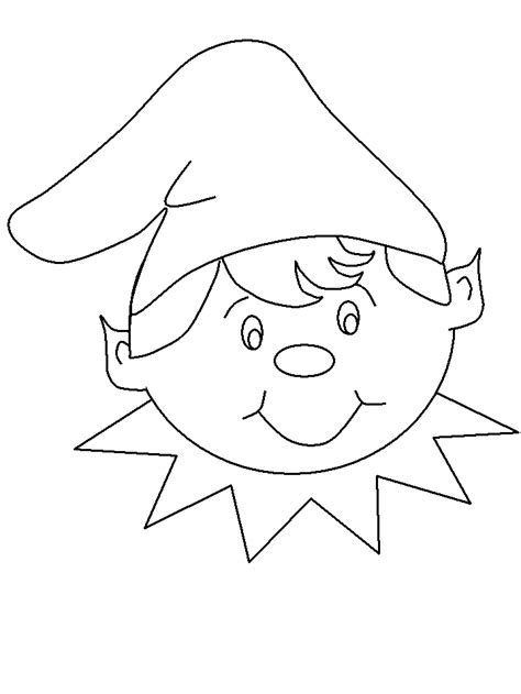 elf size coloring page elf2 christmas coloring pages coloring book