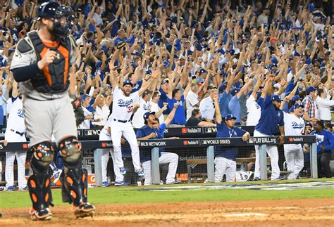 dodgers win 1 of world series in pitchers duel cbs
