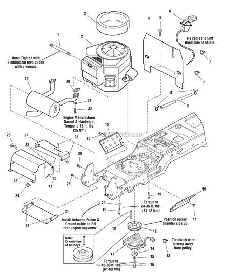 20 hp briggs and stratton engine diagram simplicity 1694632 broadmoor 20hp hydro rmo parts