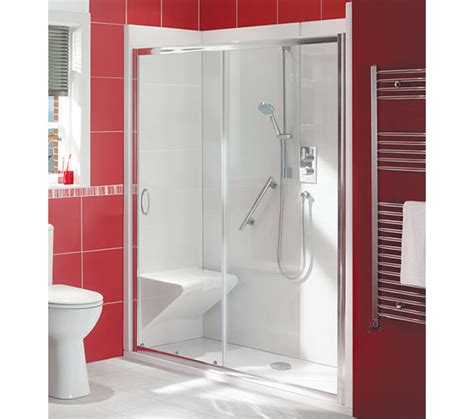 bath out shower in balterley bath out shower in enclosure package with seat