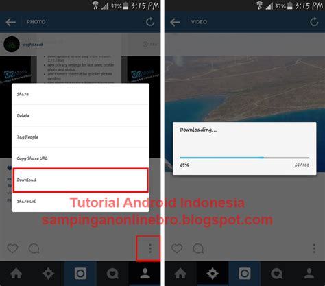 buat akun instagram tanpa download tutorial cara download video dan foto instagram tanpa root