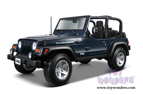 Diecast Jeep Wrangler Jeep Wrangler Rubicon Convertible By Maisto 1 27 Scale