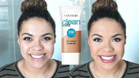 Covergirl Clean Matte Bb covergirl clean matte bb review wear test