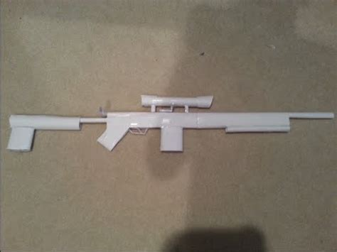How To Make Paper Weapons That Work - bolt paper gun shoots without blowing