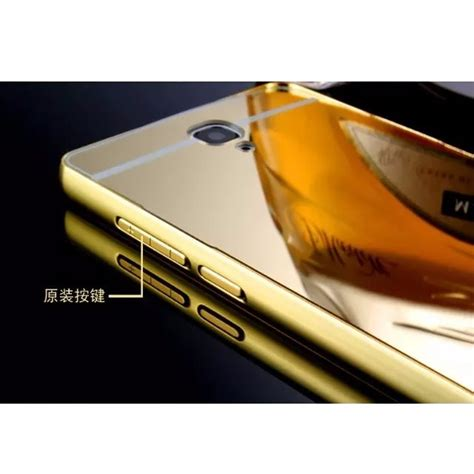 Mirror Bumper Xiaomi Redmi Note aluminium bumper with mirror back cover for xiaomi redmi