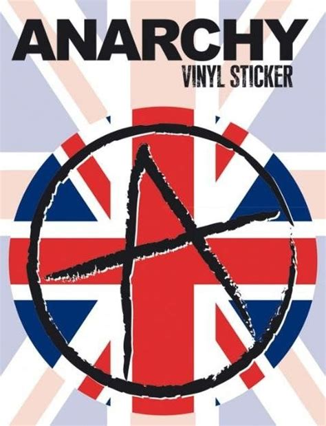 Aufkleber Foto Bestellen by Vinyl Aufkleber Anarchy Bei Europosters