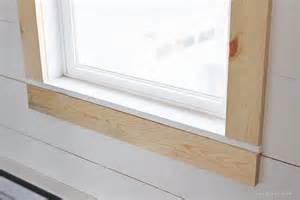 Window Sill Trim Farmhouse Window Trim Grows