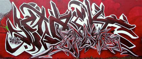 blood battle wildstyle graffiti red letters