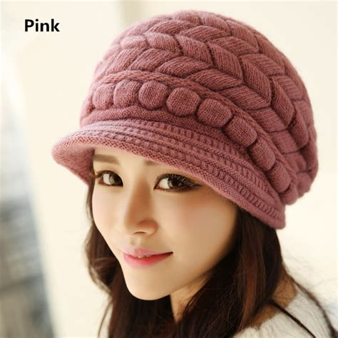 womens womens hats womens winter knit hats hairstyles