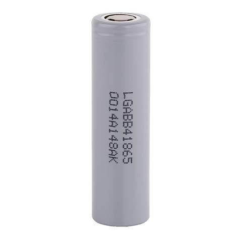 Flat Top Rechargeable Baterai 18650 Inr 37v 2200 Mah Nf52788 lg lgabb41865 18650 2600mah rechargeable battery grey
