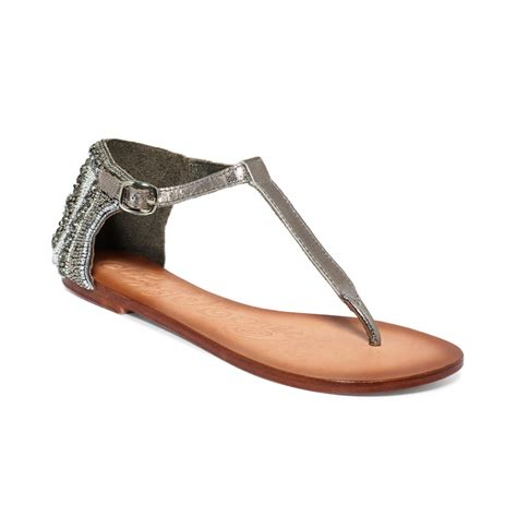 Monkey Luxury Heels by Monkey Sunflower Sandals In Gray Pewter Lyst