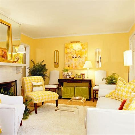 Yellow And Green Living Room Walls How To Use Yellow In Interior Design