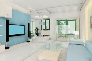 interior blue calming blues enhance this space an interior design