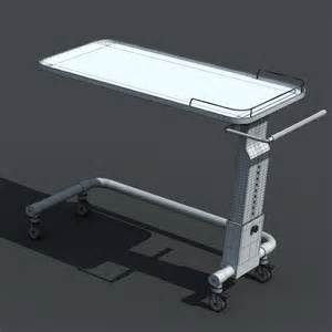 hospital bedside table 3d models cgtrader com