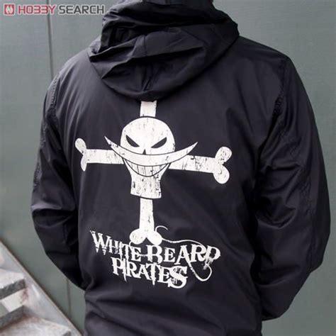 Hoodie Anime Whitebeard One one white beard windbreaker black x white l anime item picture4