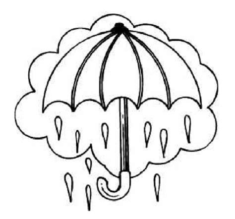 rainy season coloring pages free coloring pages